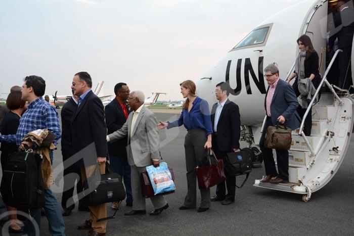 Arrivée au Burundi des ambassadeurs du Conseil de Sécurité des Nations Unies