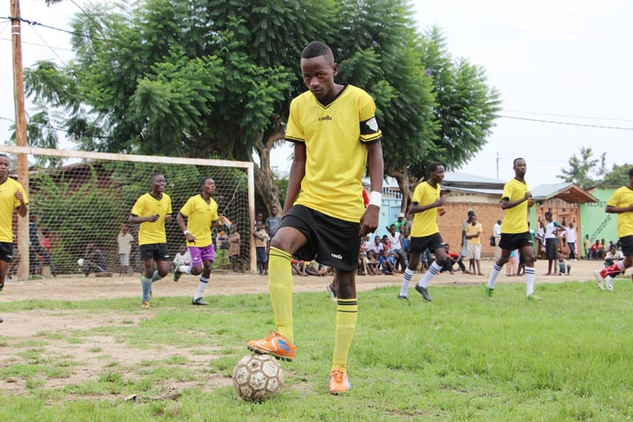 « le foot est ma première passion, après les études.», dixit Richard.
