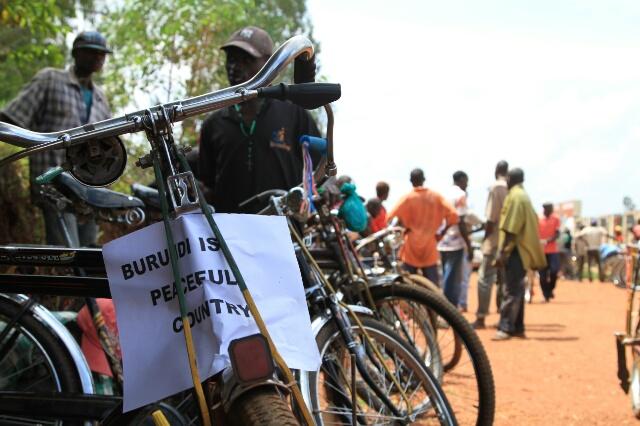 La paix règne au Burundi
