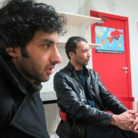 Osman Ahmadi: «Nous sommes là pour exprimer notre inquiétude et de notre soutien aux journalistes du monde entier.»