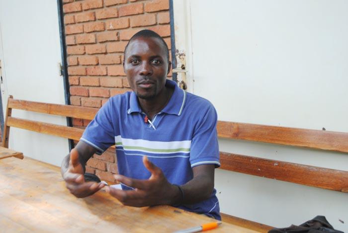 Simon Rurasuma: «Il n'y a pas de représentation des étudiants.»
