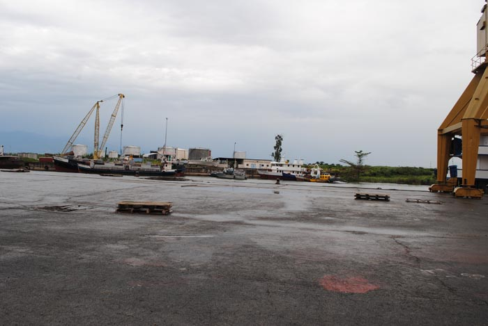 Le port de Bujumbura.