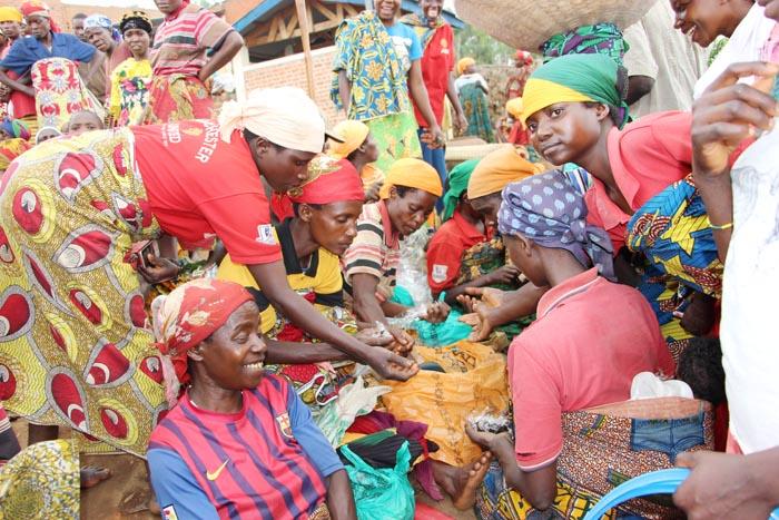 Le commerce du tabac-pâte « ubugoro », une activité prisée.