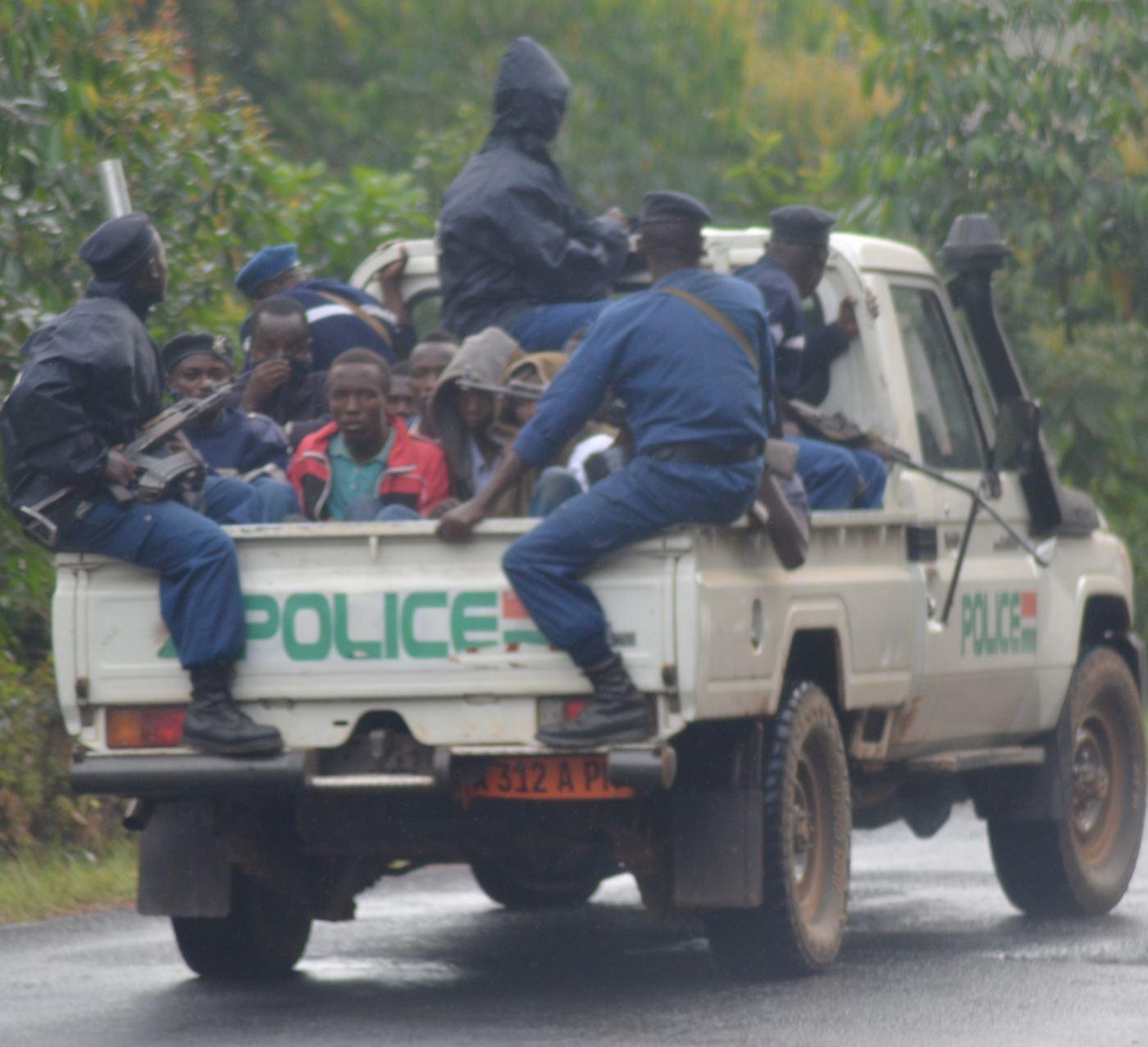Une arrestation musclée