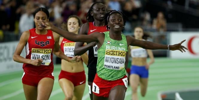 Francine Niyonsaba: «Je dédie ma médaille à mon pays»