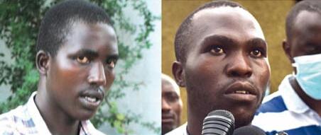 Clovis Kwizera, alias Désiré, et Epitace Ingabire, sont logés dans les locaux du SNR et avouent être bien traités.