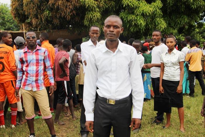Adolphe Niyongere, le jeune rassembleur