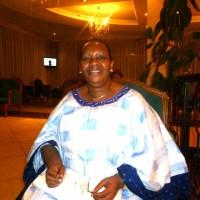"""légende photo: Mme Baricako lors du dernier sommet de l'UA à Addis """" Comme mères, épouses, nous connaissons le prix de la souffrance"""""""
