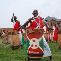 Antime Baranshakaje, le patriarche des  danseurs du tambour burundais.