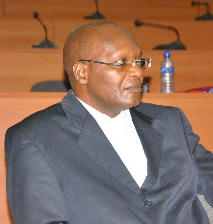 Gélase D Ndbirabe