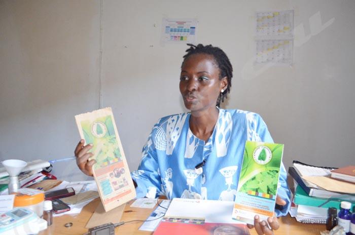 «En dépit de son combat pour l'environnement  Hugues aide les vulnérables à se prendre en mains », apprécie Ginette Karirekinyana