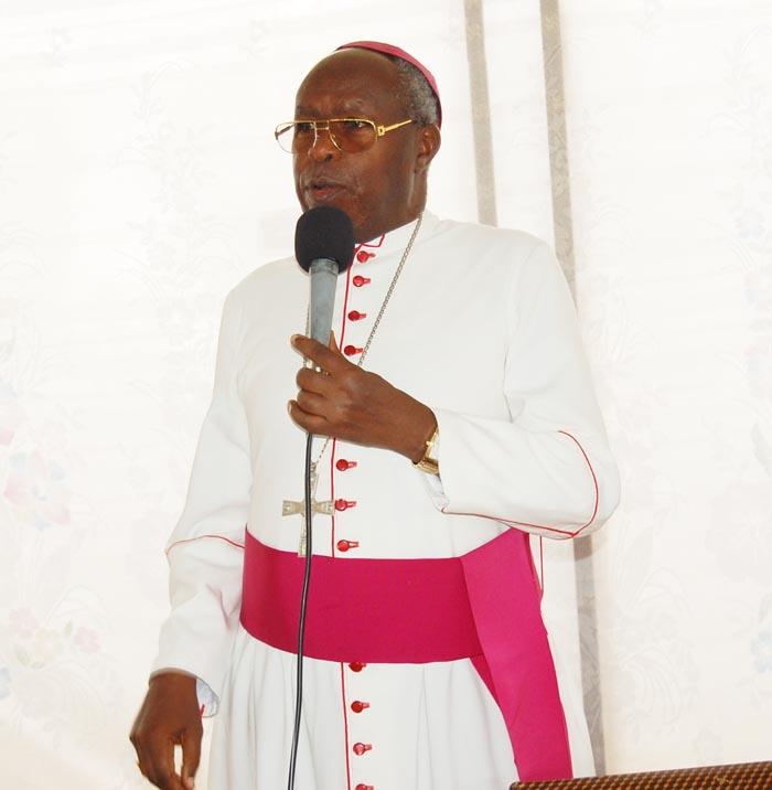 Mgr Ngoyagoye:«Nous nous sommes concertés avec les autres membres aidant dans le processus électoral sur la démarche à adopter.»