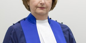 Mme la juge Silvia Fernández, Présidente de la CPI