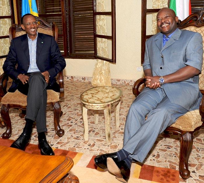 Jadis en bons termes, le Rwanda et le Burundi se sont brouillés au cours de l'année