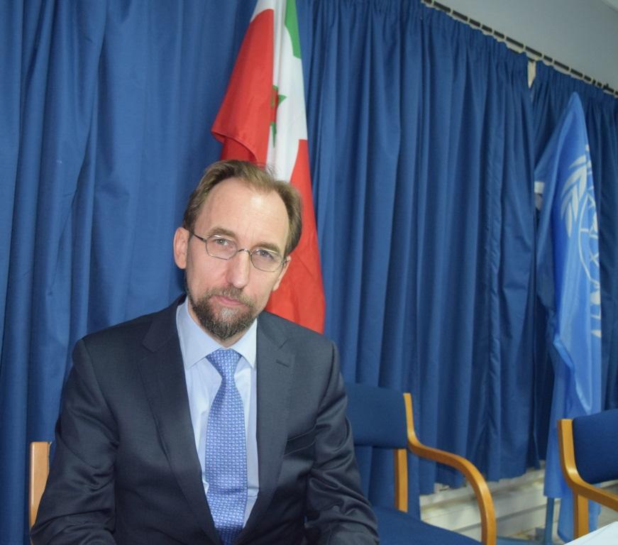 Zeid Ra'ad Al Hussein, le Haut-Commissaire des Nations Unies aux droits de l'homme
