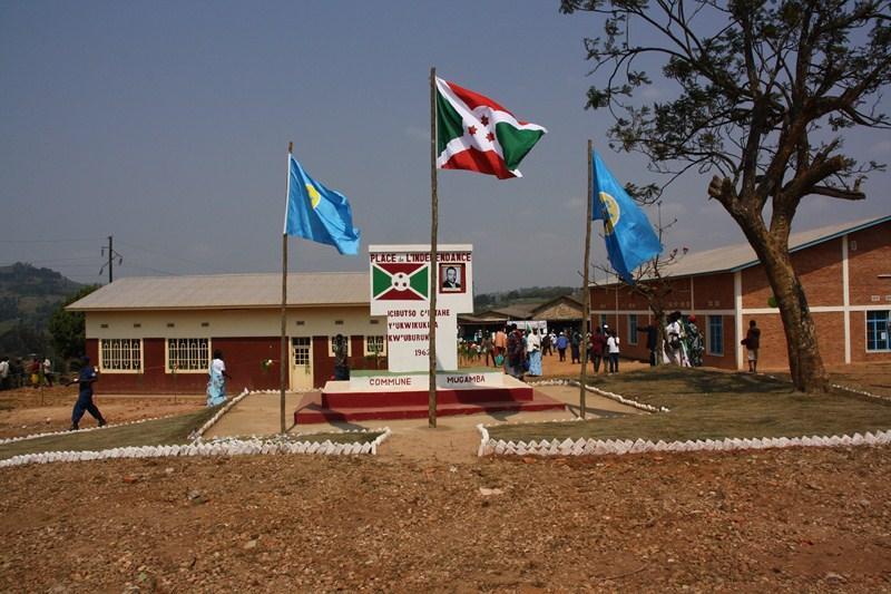 Le chef-lieu de la commune Mugamba