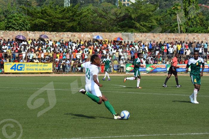 Dimanche, 22 mai 2016 - Dans le cadre des éliminatoires de la CAN 2017 des moins de 20 ans, le Nigeria a battu le Burundi par un but à 0. C'était à Bujumbura au match aller le samedi 21 mai ©O.N/Iwacu