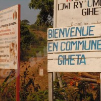 Vue du chef-lieu de la commune Giheta.