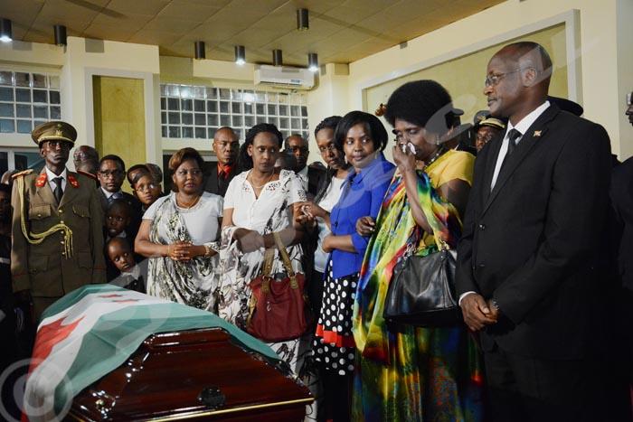 La dépouille de l'ancien président Bagaza