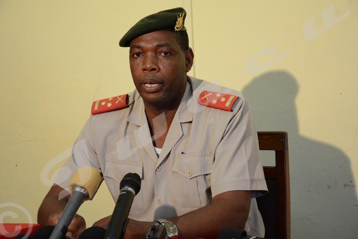 Gaspard Baratuza: «C'est tout à fait normal. Ça peut se faire à Gatumba, comme ça peut se faire ailleurs.»