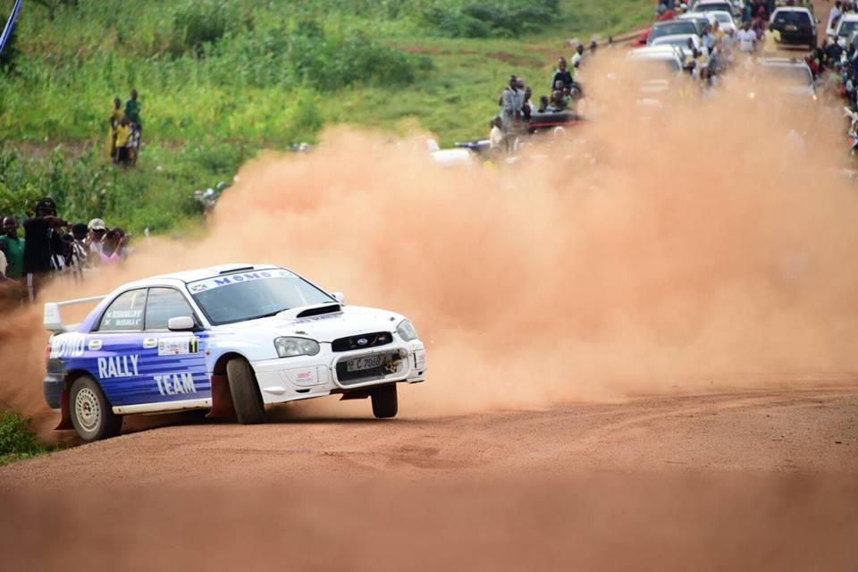 La ''Subaru Impreza N10'' de Momo à Butare l'année dernière
