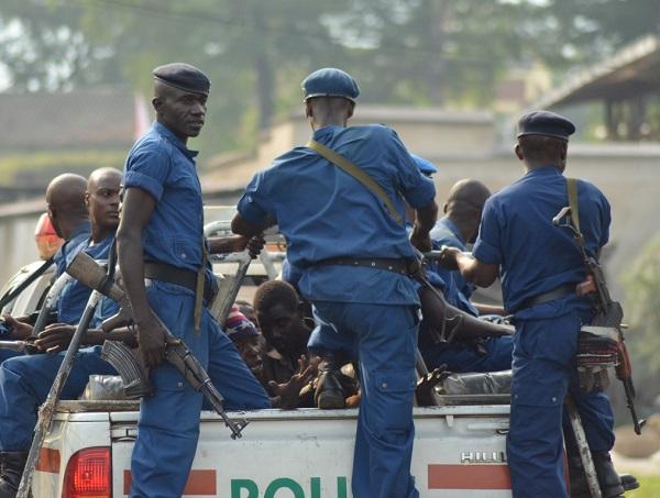 Une arrestation dans le quartier Musaga