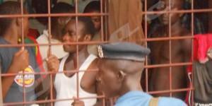 Lieu de détention du commissariat à Cibitoke.
