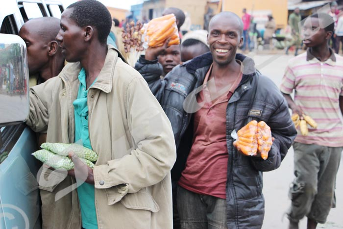 Les vendeurs de Bugarama, une race de marchands à part.