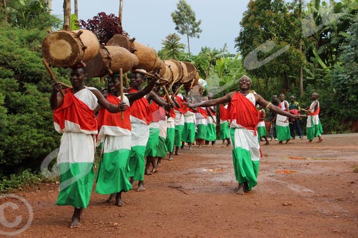 Le tambour, un élément fédérateur pour les jeunes de Masango.