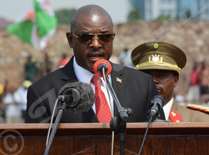 Le président Pierre Nkurunziza: «Il faut que dans deux mois, on en finisse avec les perturbateurs de la sécurité»