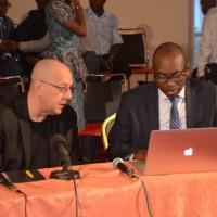 Un tête à tête entre Willy Nyamitwe et Luc Michel