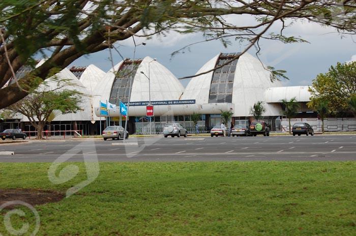 Aéroport International de Bujumbura, une des œuvres du président Jean Baptiste Bagaza