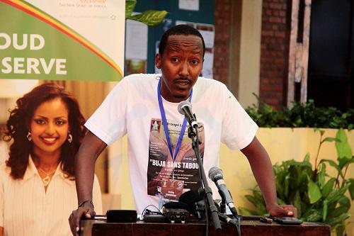 Freddy Sabimbona, directeur artistique du festival «Buja sans tabou»