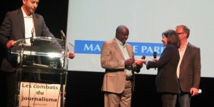Antoine Kaburahe, Prix Reporters Sans Frontières 2016