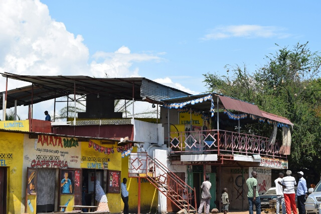 Le bar qui a été attaqué à la grenade