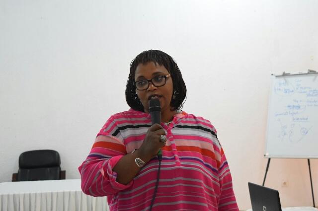 Dr Yolande Magonyagi: «Sur 35 femmes hospitalisées dans ce centre en 2015, 27 ont été opérées et guéries.»