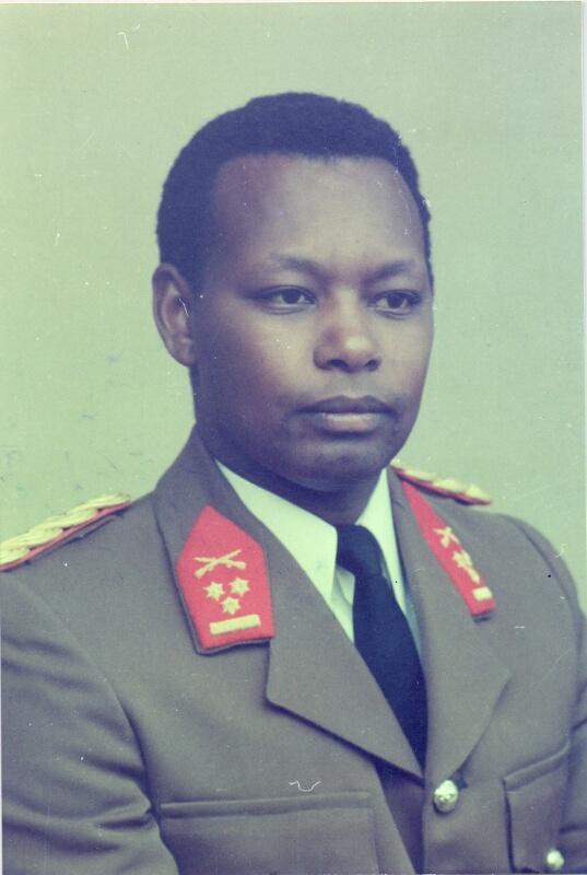 Le jeune colonel Jean-Baptiste Bagaza n'a que 30 ans à sa prise du pouvoir