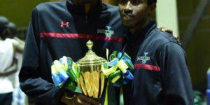 Yao et Bonfils,vainqueurs avec Patriots du Championnat du Rwanda 2015-2016