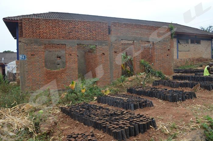 Une école du CEM Musaga à moitié construite depuis plus d'un an