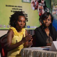 Cynthia Manirambona:«Nous ne nous imposons aux enfants, nous les écoutons pour savoir exactement de quoi ils ont besoin.»