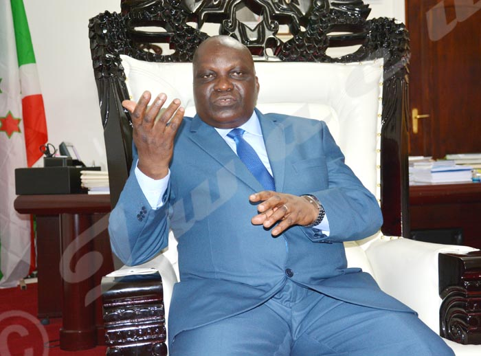 Pascal Nyabenda ;« Je reste président de l'Assemblée nationale.»