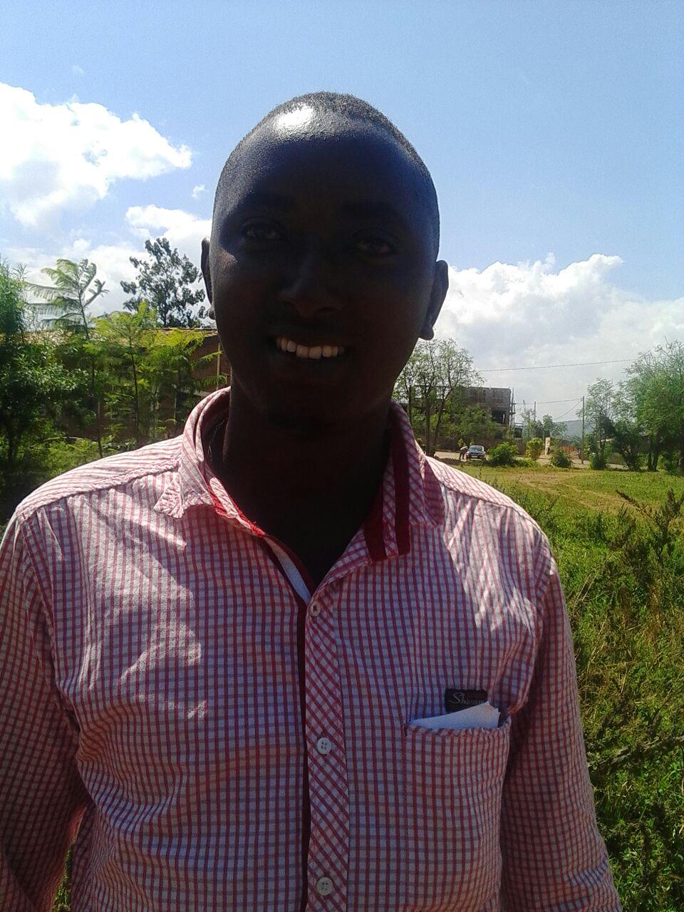 Egide Ndayisenga après sa libération