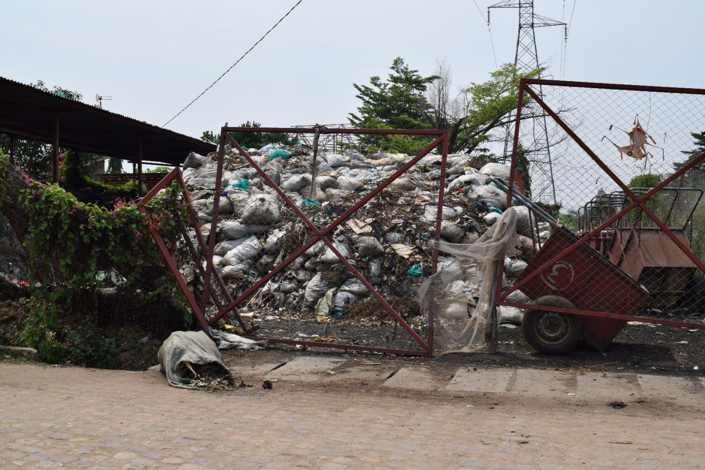 La zone de décharge des déchets située à la 14ème avenue.