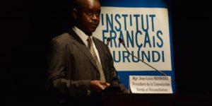 Mgr Jean Louis Nahimana, président de la CVR