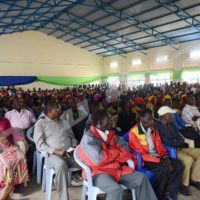 Mardi, 7 juin 2016 - Les parents des élèves de certaines écoles du centre de Muramvya qui ont fait des gribouillis sur la photo du président Nkurunziza étaient en réunion avec les responsables provinciaux au Lycée de Muramvya. C'était le lundi 6 juin ©O.N/Iwacu