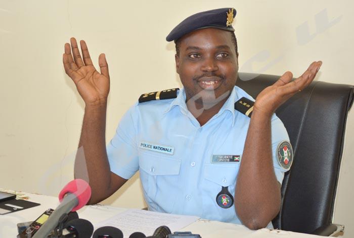 Pierre Nkurikiye: «La PAFE ne peut pas être impliquée dans cela.»
