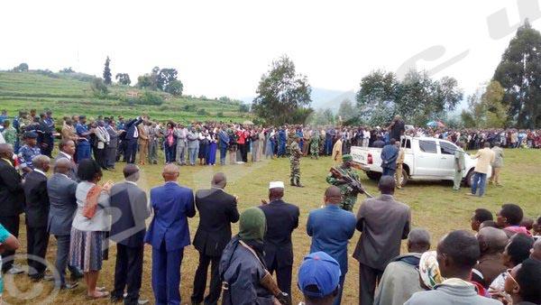 Le Président Pierre Nkurunziza: «Nous donnons 15 jours à tous les malfaiteurs pour se rendre et remettre leurs armes.»