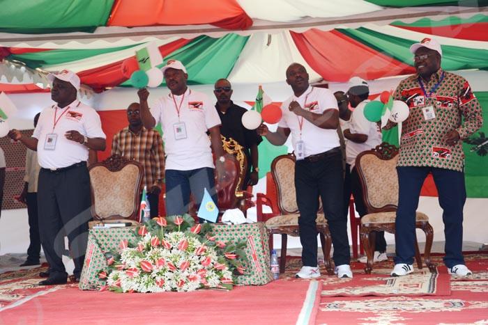 Le président Pierre Nkurunziza a donné l'impression d'être réellement le Chef d'orchestre qui mène les Bagumyabanga.