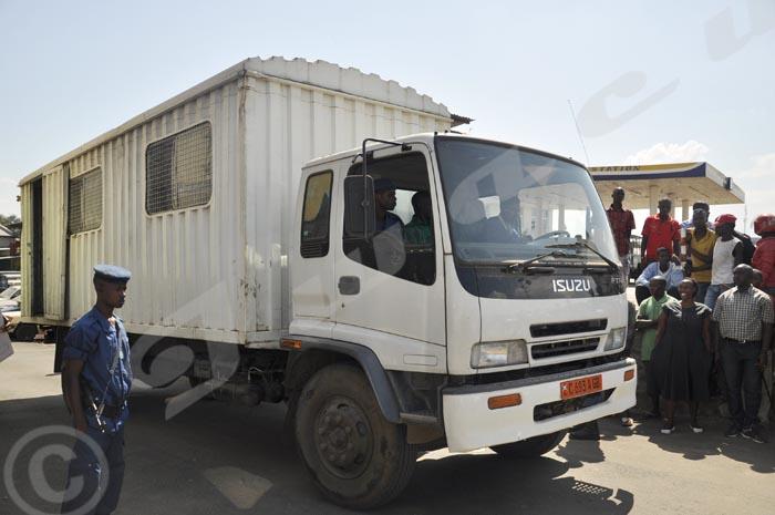 « Somba Somba », le véhicule utilisé notamment pour le transfert des prisonniers