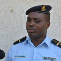 Pierre Nkurikiye, porte-parole de la police nationale